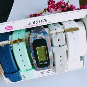 B - active